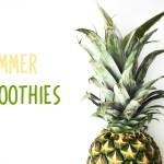 CREATIVE FOOD BAND: 3 smoothies para el verano