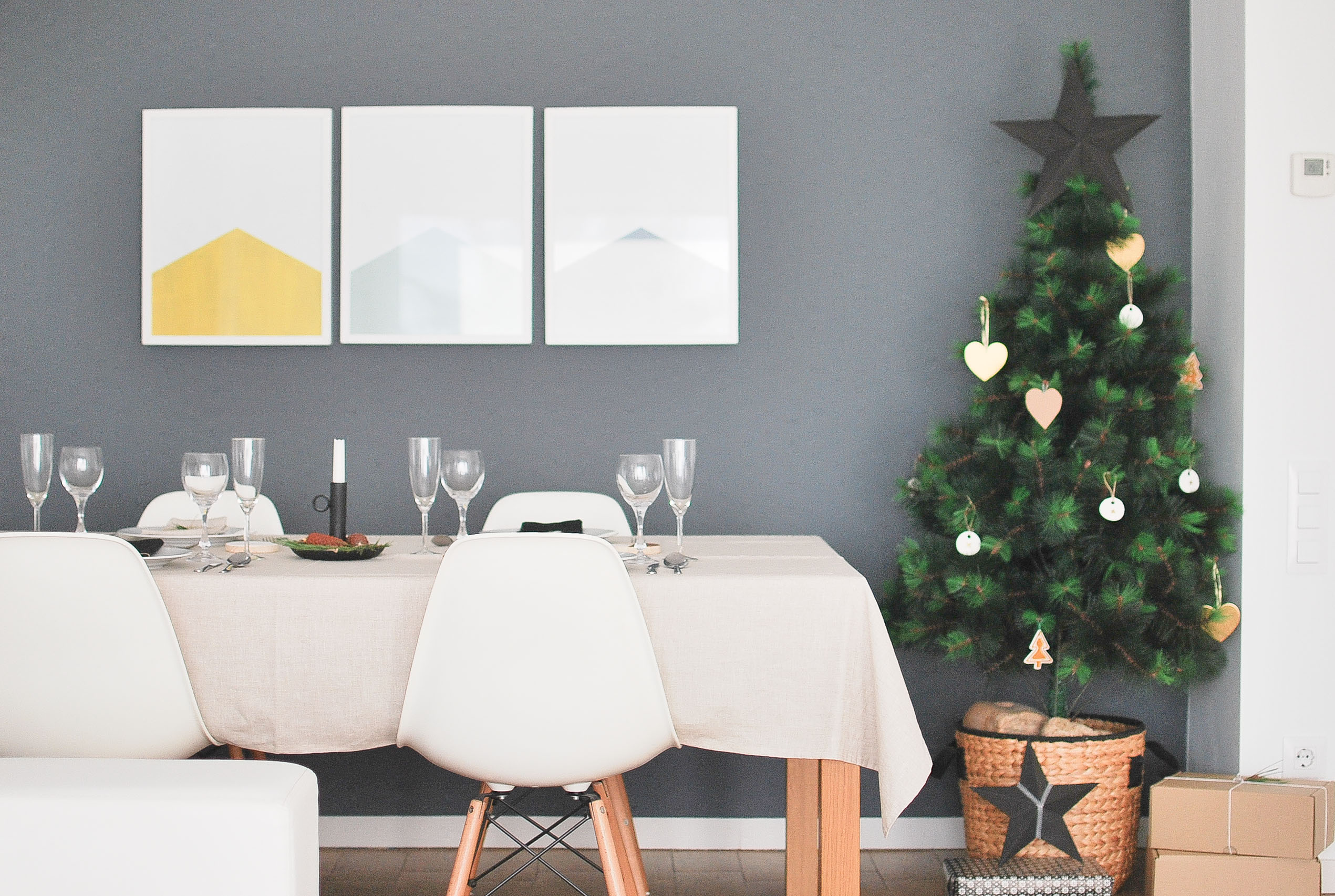 Decoraci n navide a el comedor for Decoracion navidena ikea