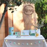 El bautizo de Alma: ideas para organizar una fiesta (I)