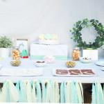 El bautizo de Alma: ideas para organizar una fiesta (II)