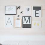 DIY: decorar con madera y láminas