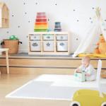 La habitación de juegos de Alma: ideas y DIY