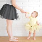 Falda de tul handmade para mamás e hijas