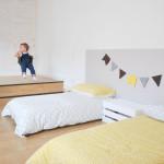 Cómo hacer una cama con palés reciclados