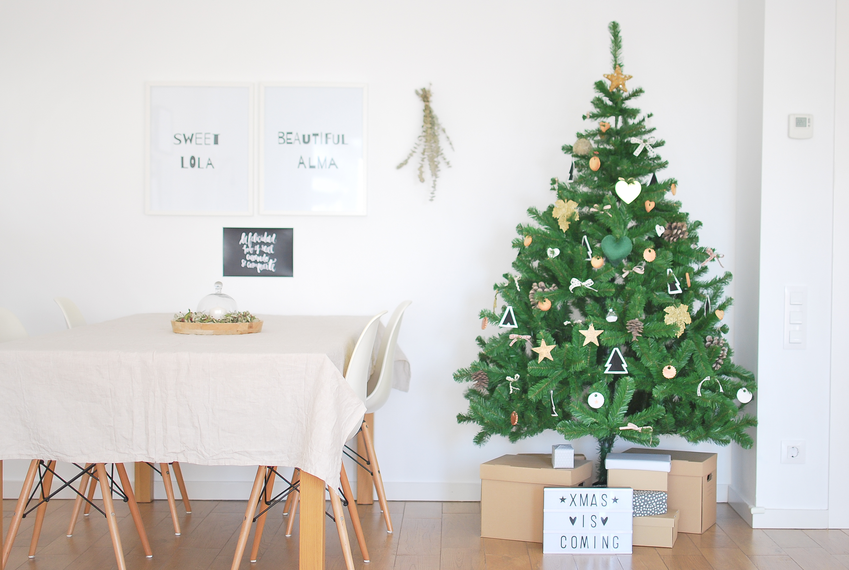 Mi decoraci n navide a diy y low cost - Decoracion navidena diy ...