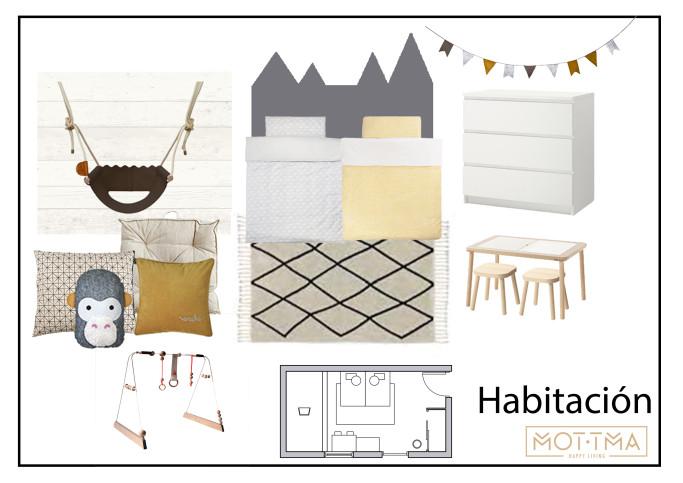 Habitación moodboard