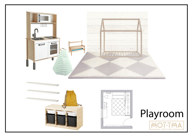 Playroom moodboard